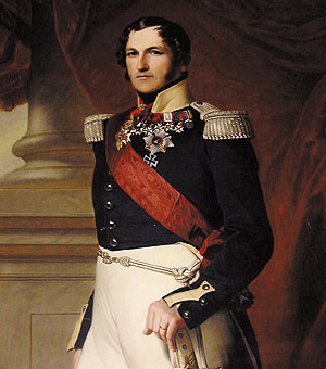 Picture: King Leopold I of Belgium, portrait